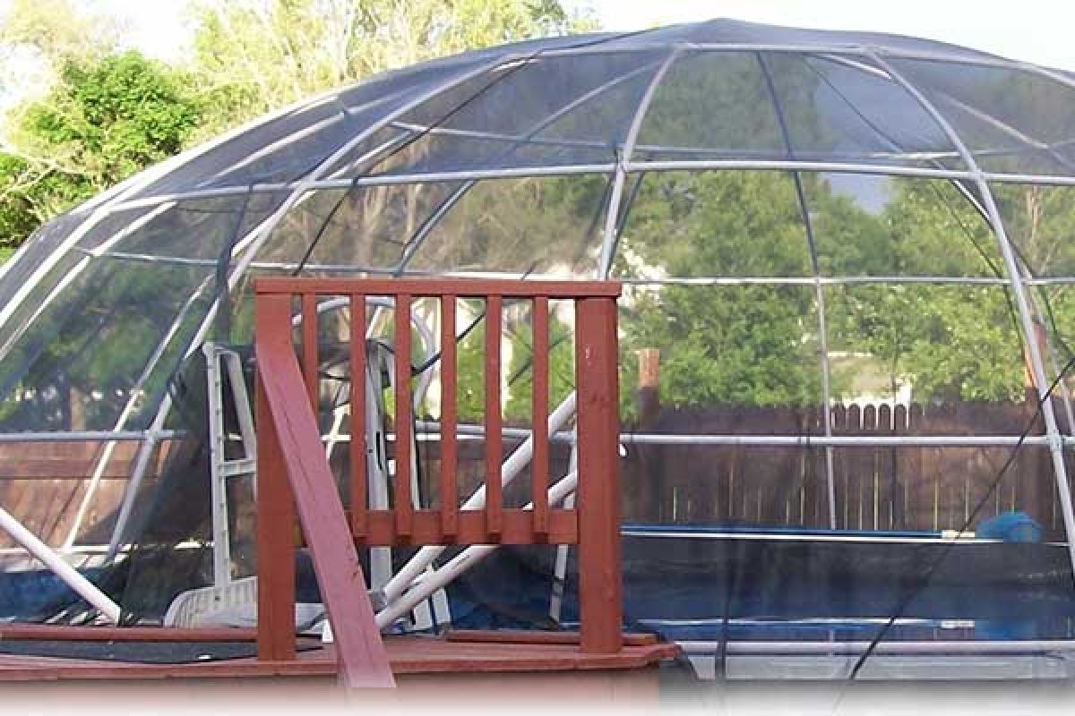 Pool Igloo Above Ground Pool Enclosure